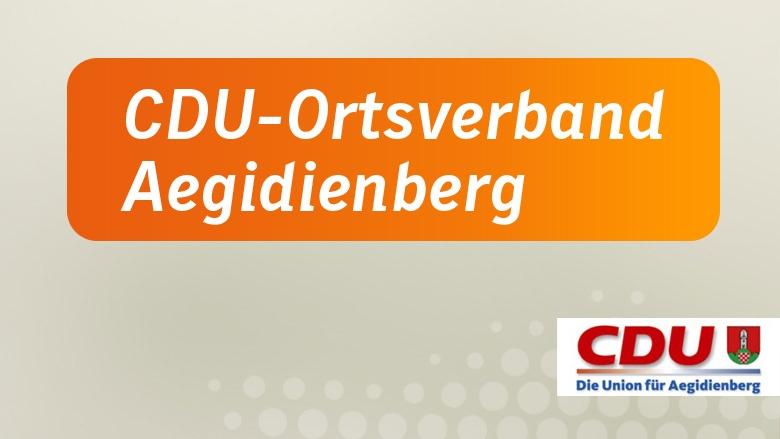 CDU-Ortsverband Aegidienberg